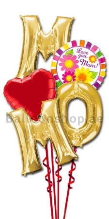 With Love Mother's Day Letter Balloon Bouquet