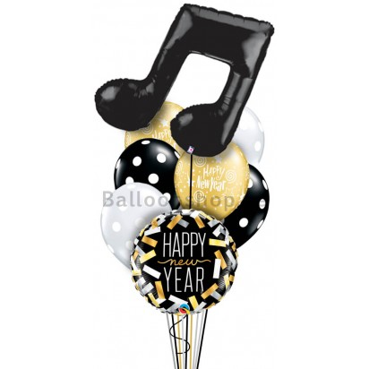Ultra Jumbo New Year Balloon Arrangement