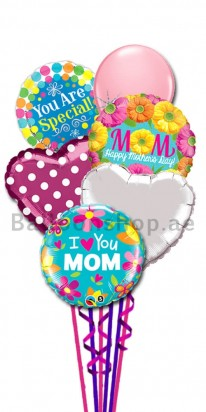 My Inspiraiton Happy Mother's Day Balloon Bouquet