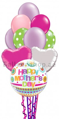 Colorful Mother's Day Balloon Bouquet
