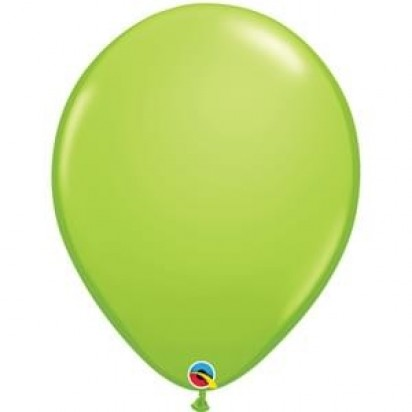 "16"" Lime Green Big Helium Latex Balloon"