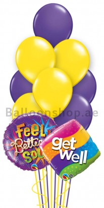 (12 Balloons) Feel Better Darling