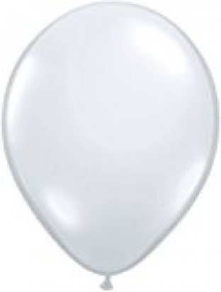 "24"" Transparent Plain Helium Latex Balloon"