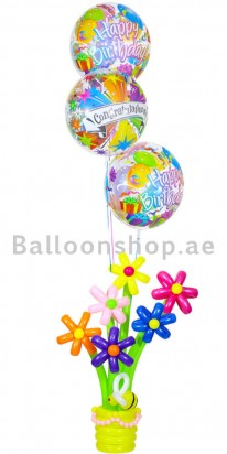 Congrats, Its your Birthday Balloon Arrangement