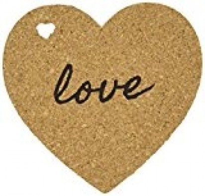 Heart Cork Board