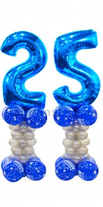 Any Age Birthday Balloon Decoration