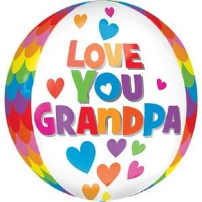 "15"" GRAND FATHER ORBZ BALLOON"