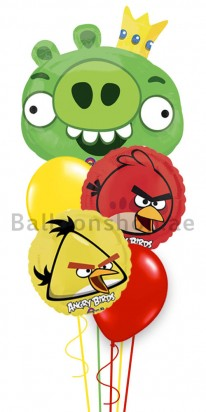 Angry Birds Balloon Arrangement