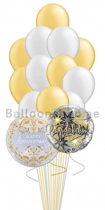 Anniversary Bubbles (14 Balloons)