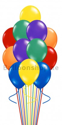 Assorted Colors Balloon Bouquet