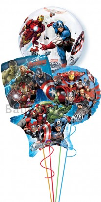 Avengers Foil Balloon Arrangement