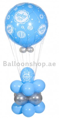 Gigantic Baby Boy Balloon Arrangement