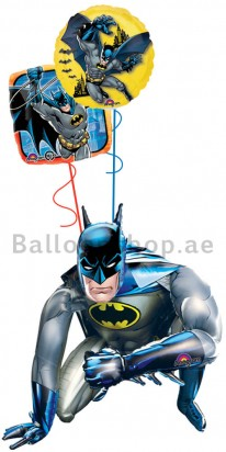 Batman Air Walker Fun Size Balloon Arrangement
