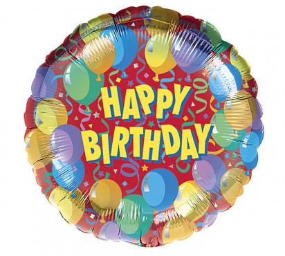 "18"" Birthday Celebrati Helium Foil Balloon"