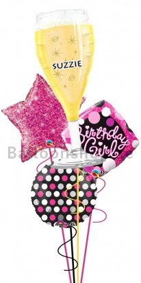 Personalized Glamorous Birthday (You are Brilliant)