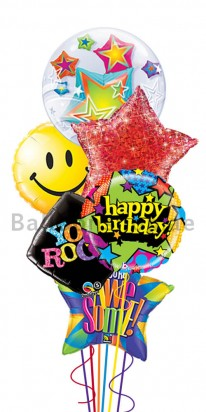 Celebrate Your Birthday Awesome Balloon Arrangement