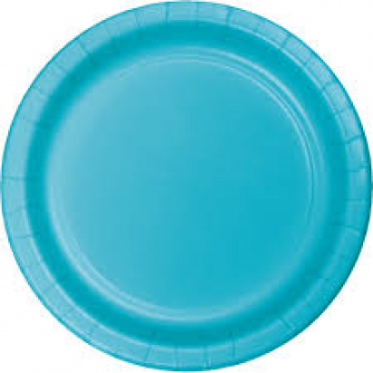 "8"" Blue Normal Party Plates (8ct)"
