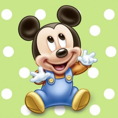 Party Mickey Mouse Napkins
