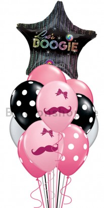 11 Balloons Lets Boogie Party Balloon Bouquet