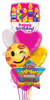 Birthday Fun Honey Bun Balloon Arrangement