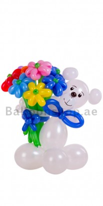 The Lovely Care Bear Balloon Arrangement
