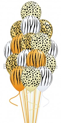 Wild Cheetah Safari Balloon Bouquet