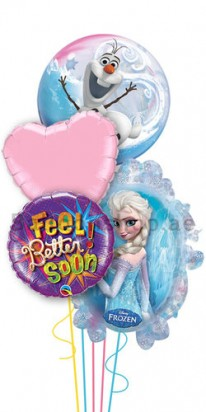 disney frozen get well balloons
