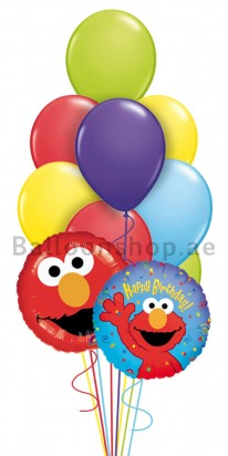 Elmo Birthday Madness Birthday Balloon Bouquet