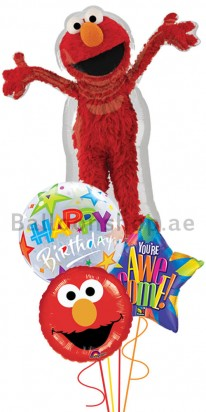 Elmo Birthday (Its Your Birthday) Balloon Arrangement