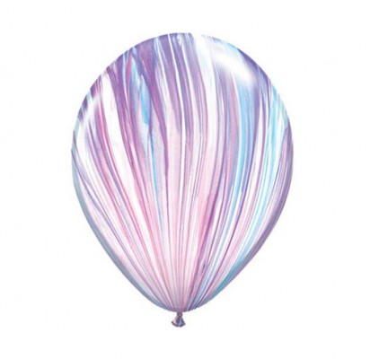"11"" Fashion Agate Helium Latex Balloon"