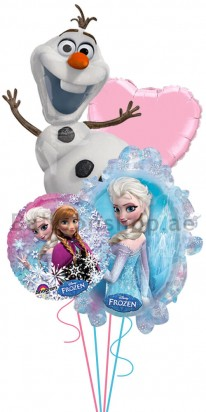 Disney Frozen Olaf, with love Balloon Arrangement