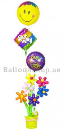 get well soon balloons dubai