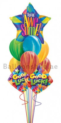 good luck balloons dubai