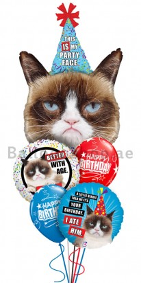 Grumpy Cat Foil Balloon
