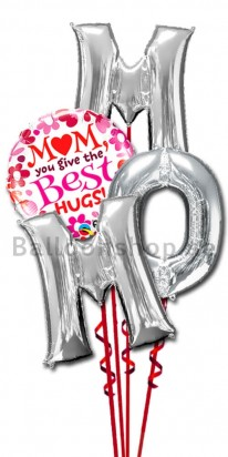 Mothers Day Letter Balloon Bouquet