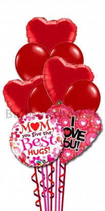 Biggest Heart Mother's Day Balloon Bouquet