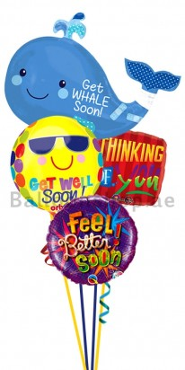 Get Well Thinking Of You Balloon Bouquet