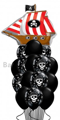 Birthday Pirates Balloon Bouquet