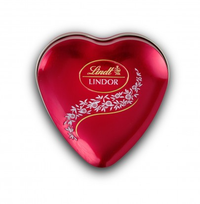 LINDT Lindor Chocolate Mini Hearts Tin (62 grams)