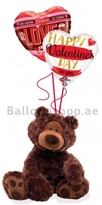 Gund The Perfect Love, Valentine's Day Balloon Arrangement