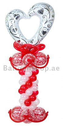 Classic Love Balloon Column