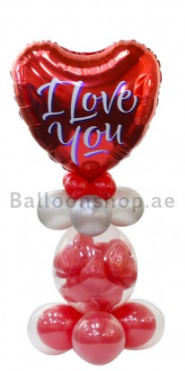 Love Struck Love Balloon Arrangement