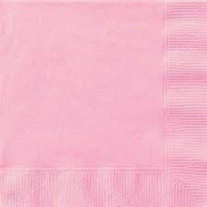"""13"""" Pink Luncheon Napkin (16ct, 2 ply)"""