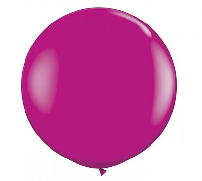 3' Wild Berry Large Helium Balloon (90 cm )