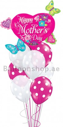 Mega Jumbo Ultimate Mother's Day Balloon Arrangement