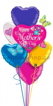 Mother's Day Helium Balloon Bouquet