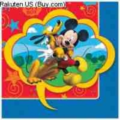 Mickey Beverage Party Napkins