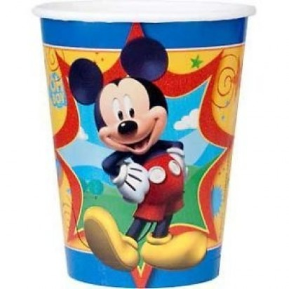 Mickey Mouse Character Party Cups (8pcs)