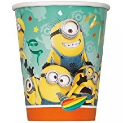 Minion Character Party Cups (8pcs)