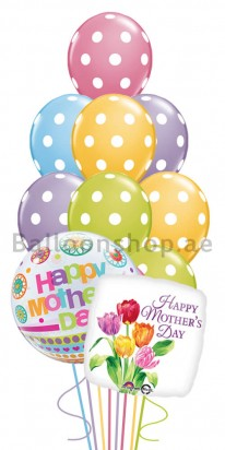 Ultra Jumbo Mother's Day Balloon Arrangement
